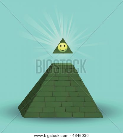 Pyramid And Smilie