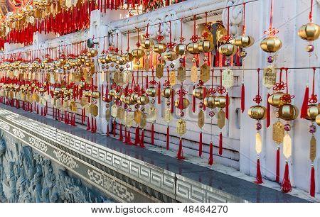 Golden Prayer Bells Of The  Wenwu Temple