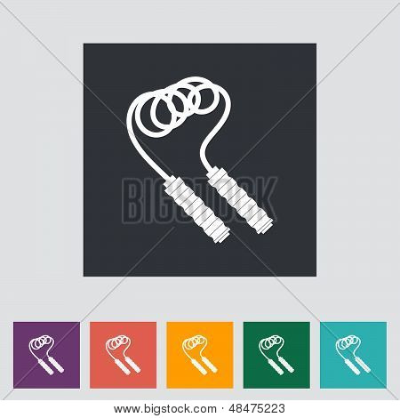 Skipping Rope Icon.
