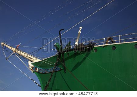 Bowsprit On A Tall Ship
