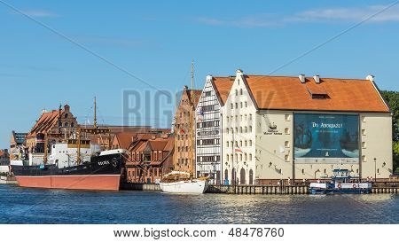The Polish Maritime Museum in Gdansk