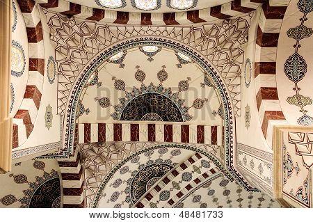 Sabanci Mosque, Adana  - Interior