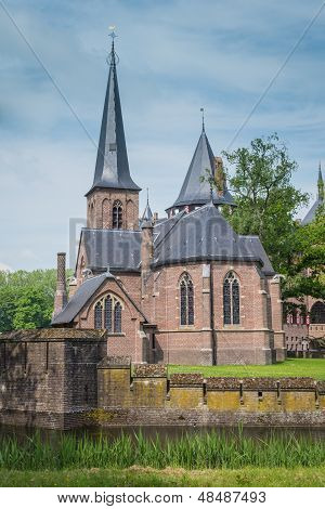 Chapel At Castle De Haar, The Netherlands