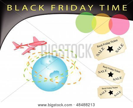 A Time To Black Friday Shopping Promotion