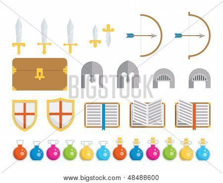 Set of Icons - Fantasy