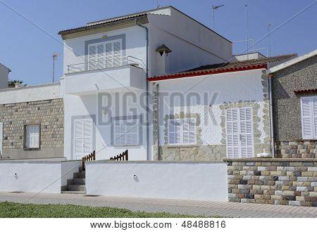 Typical fishermen's houses Majorca