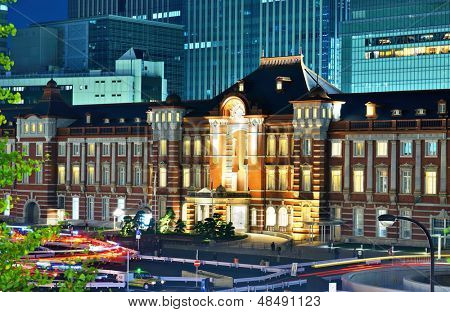 Tokyo Station in Tokyo, Japan.