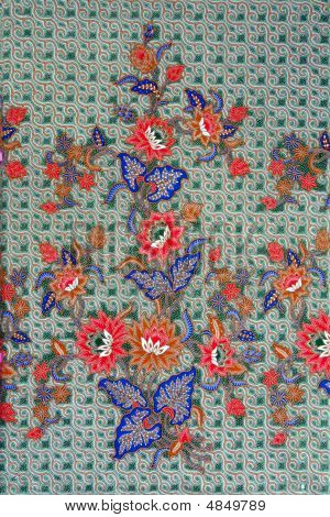 Batik - Plant Motif