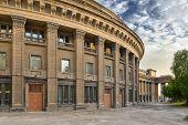 stock photo of novosibirsk  - Novosibirsk academic opera theatre  - JPG