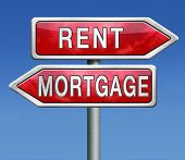 picture of house rent  - mortgage or renting buy or rent house - JPG