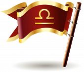 Royal-flag-astrology-sign-libra