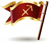 Royal-flag-astrology-sign-sagittarius
