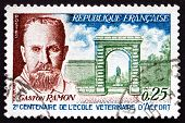 Postage Stamp France 1967 Profesor Gaston Ramon