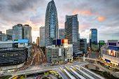 image of kanto  - Shinjuku Ward skyline in Tokyo - JPG