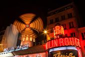 foto of moulin rouge  - PARIS  - JPG