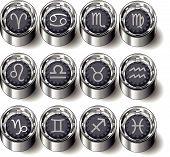Rubber-button-set-astrology
