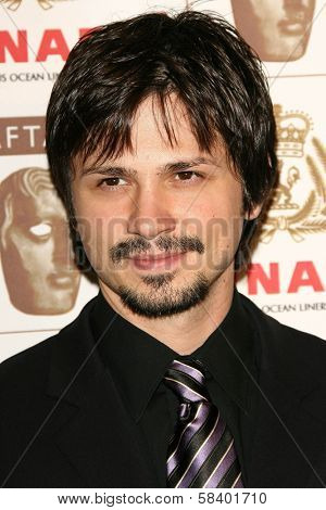 LOS ANGELES - NOVEMBER 2: Freddy Rodriguez at the 2005 BAFTA/LA Cunard Britannia Awards at Hyatt Regency Century Plaza Hotel on November 2, 2006 in Century City, CA.