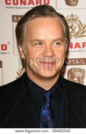 LOS ANGELES - NOVEMBER 2: Tim Robbins at the 2005 BAFTA/LA Cunard Britannia Awards at Hyatt Regency Century Plaza Hotel on November 2, 2006 in Century City, CA.