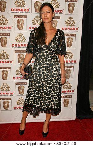 LOS ANGELES - NOVEMBER 2: Rhona Mitra at the 2005 BAFTA/LA Cunard Britannia Awards at Hyatt Regency Century Plaza Hotel on November 2, 2006 in Century City, CA.