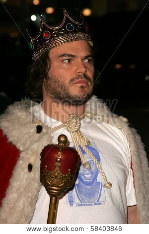 LOS ANGELES - NOVEMBER 09: Jack Black at the Los Angeles Premiere of