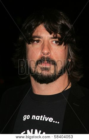 Dave Grohl at the Los Angeles Premiere of