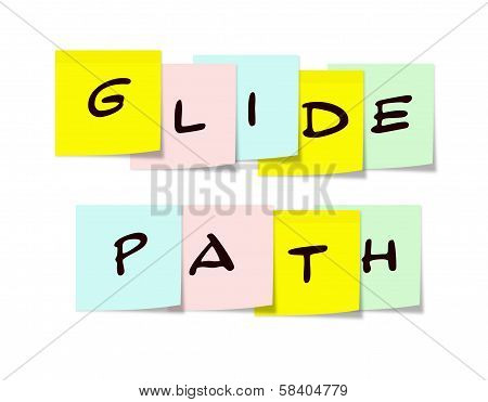 Glide Path Sticky Notes