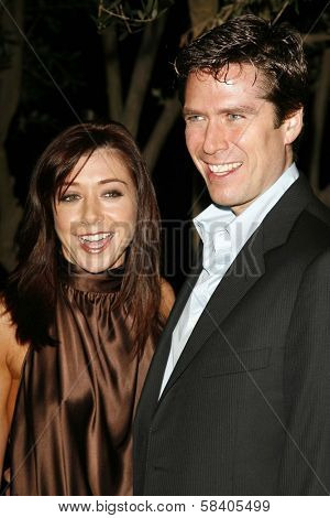 LOS ANGELES - NOVEMBER 09: Alyson Hannigan and Alexis Denisof at the 2006 Partners Award Gala presented by Oceana at Esquire House November 09, 2006 in Los Angeles, CA.