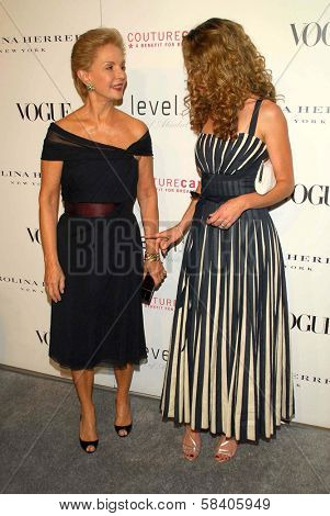 LOS ANGELES - NOVEMBER 13: Carolina Herrera and Rebecca Gayheart at the opening of the Carolina Herrera Los Angeles Boutique at Carolina Herrera on November 13, 2006 in Los Angeles, CA.
