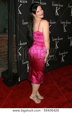 LOS ANGELES - NOVEMBER 14: Jackie Watson at the opening party for the Lloyd Klein Flagship Store at Lloyd Klein Flagship Store on November 14, 2006 in Los Angeles, CA.