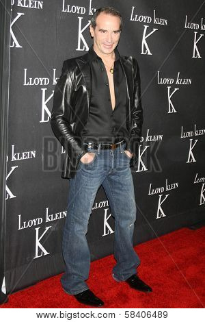 LOS ANGELES - NOVEMBER 14: Lloyd Klein at the opening party for the Lloyd Klein Flagship Store at Lloyd Klein Flagship Store on November 14, 2006 in Los Angeles, CA.