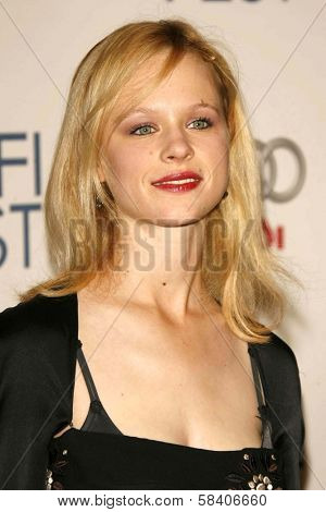 LOS ANGELES - NOVEMBER 10: Thora Birch at the AFI Fest 2006 Screening of