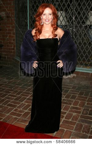 LOS ANGELES - NOVEMBER 14: Phoebe Price at the opening party for the Lloyd Klein Flagship Store at Lloyd Klein Flagship Store on November 14, 2006 in Los Angeles, CA.