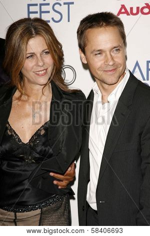 LOS ANGELES - NOVEMBER 10: Rita Wilson and Chad Lowe at the AFI Fest 2006 Screening of