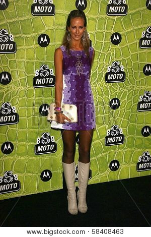 LOS ANGELES - NOVEMBER 02: Lady Victoria Hervey at the Motorola 8th Anniversary Party at Hollywood Palladium on November 02, 2006 in Hollywood, CA.