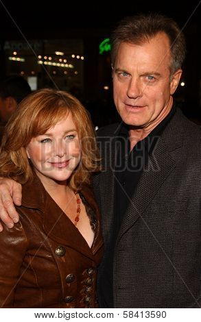 HOLLYWOOD - DECEMBER 06: Faye Grant and Stephen Collins at the premiere of