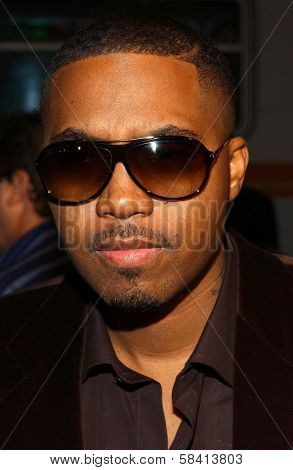 HOLLYWOOD - DECEMBER 06: Nas at the premiere of