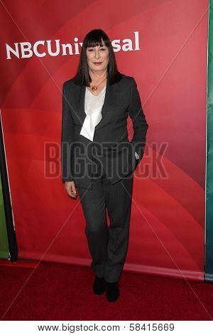 Anjelica Huston at NBC Universal's
