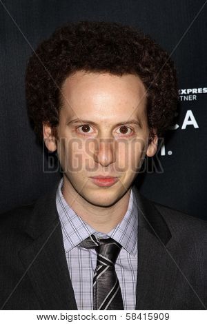 Josh Sussman at the