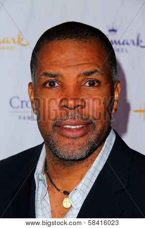 Eriq La Salle at the Hallmark Channel and Hallmark Movie Channel Winter 2013 TCA Gala, Huntington Library and Gardens, San Marino, CA 01-04-13