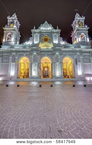 Cathedral Basilica In Salta, Argentina