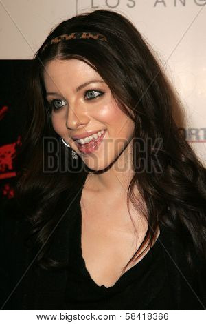 LOS ANGELES - DECEMBER 02: Michelle Trachtenberg at the