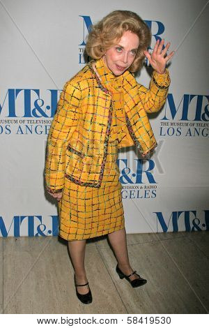 LOS ANGELES - DECEMBER 05: Dr. Joyce Brothers at the Presentation of