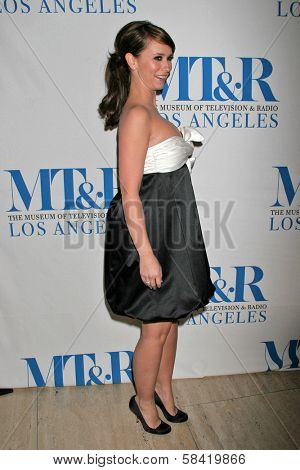 LOS ANGELES - DECEMBER 05: Jennifer Love Hewitt at the Presentation of