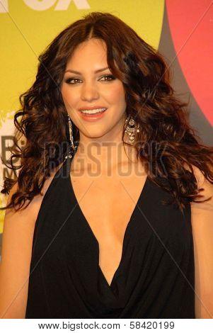 LAS VEGAS - DECEMBER 04: Katharine McPhee in the press room at the 2006 Billboard Music Awards, MGM Grand Hotel December 04, 2006 in Las Vegas, NV