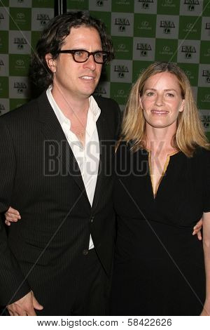 LOS ANGELES - NOVEMBER 08: Davis Guggenheim and Elisabeth Shue at the 16th Annual Environmental Media Association Awards on November 08, 2006 at Wilshire Ebell Theatre in Los Angeles, CA.
