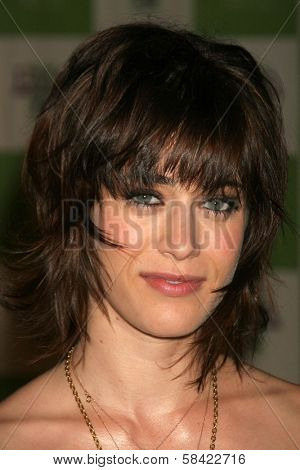 LOS ANGELES - NOVEMBER 08: Lizzy Caplan at the 16th Annual Environmental Media Association Awards on November 08, 2006 at Wilshire Ebell Theatre in Los Angeles, CA.