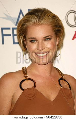 HOLLYWOOD - NOVEMBER 10: Rebecca Romijn at the AFI Fest 2006 Screening of