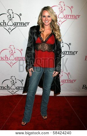LOS ANGELES - DECEMBER 20: MIchelle Baena at the Bench Warmer Trading Cards' Holiday Party and Toy Drive on December 20, 2006 at Area, Los Angeles, CA.