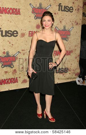 Samaire Armstrong at the Fuse Fangoria Chainsaw Awards. Orpheum Theatre, Los Angeles, CA. October 15, 2006.