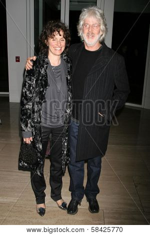 LOS ANGELES - DECEMBER 10: Charles Shyer and wife Deborah at the premiere of
